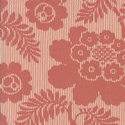 Moda Madam Rouge by French General - 5693 - Camellia Floral in Faded Red - 13774 12 - Cotton Fabric